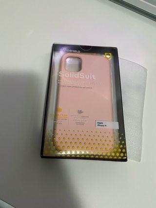 Funda IPhone 11 RhinoShield rosa