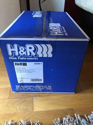 Muelles reductores H&R 29059-1, VA 35 mm,