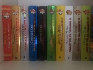 Colección completa Gerónimo Stilton: 10 libros
