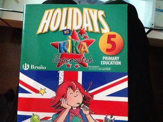 Libro de vacaciones inglés