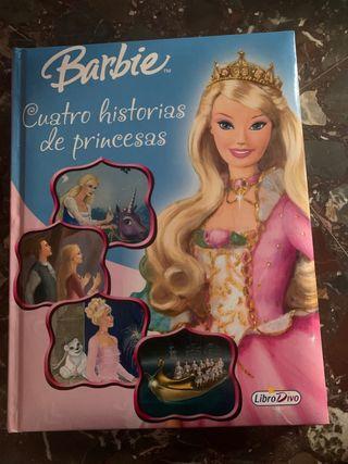 Libro Barbie: Cuatro historias de princesas