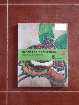 Libro de Ciencias de la naturaleza.