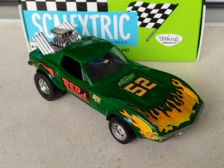 SCALEXTRIC CHEVROLET CORVETTE DRAGSTER