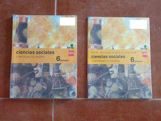 Libros de Ciencias sociales.