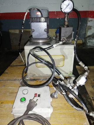 Mini central hidraulica