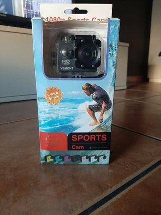 Cámara de deporte o GoPro vemont.