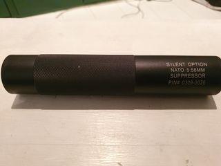 Silenciador airsoft rosca 14mm