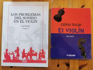 Libros violín