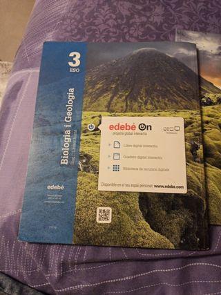 biología y geología 3 eso ISBN 9788468320830