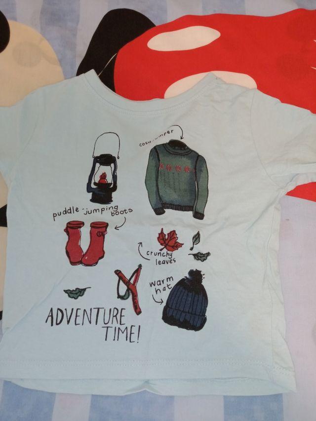 pack 7 camisetas