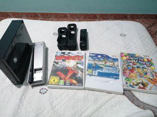 Wii Edición color negro