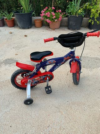 "Bicicleta Spiderman 14 """