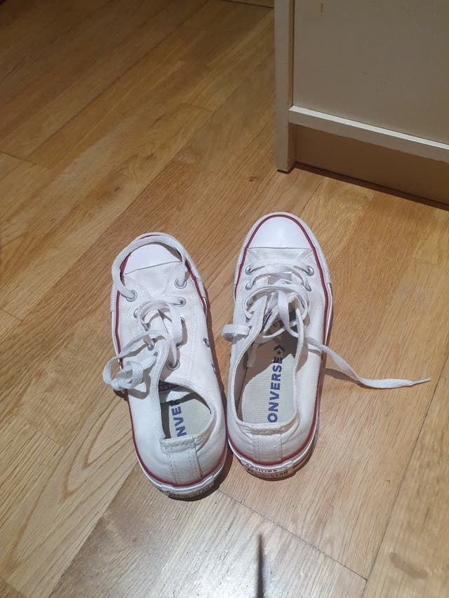 Converse blancas talla 36,5.