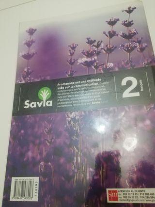 Libro francés 2 con CD