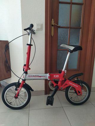 Bicicleta Plegable Monty F14 Pocket