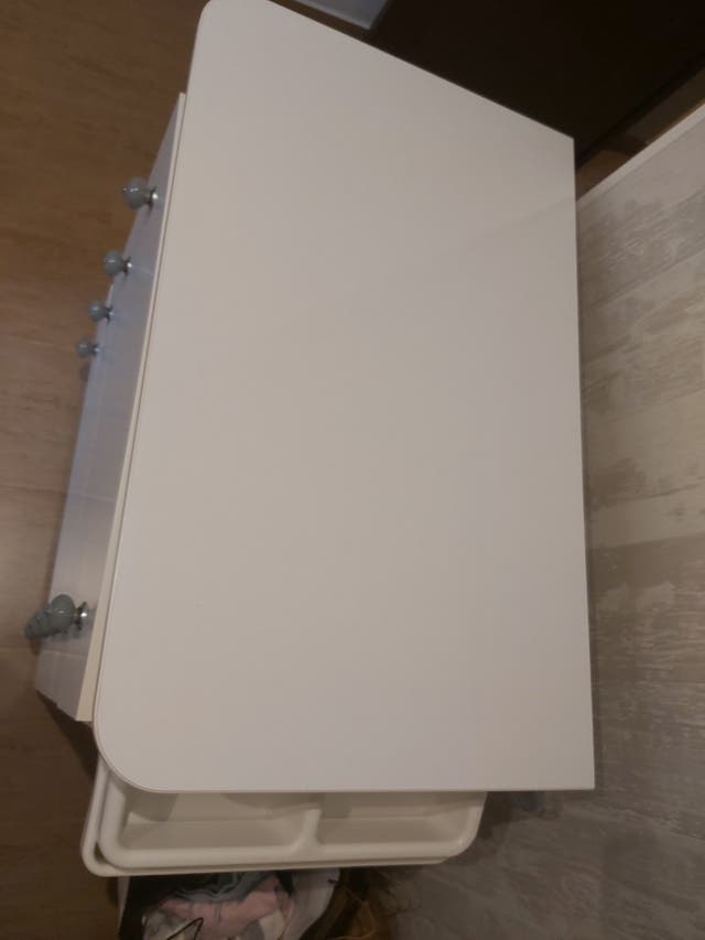mueble cambiador con bañera Micuna