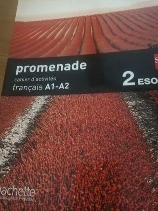 Libro de actividades de francés de 2