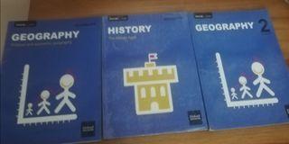 Libros de 2 ESO bilingüe Geográfia e historia
