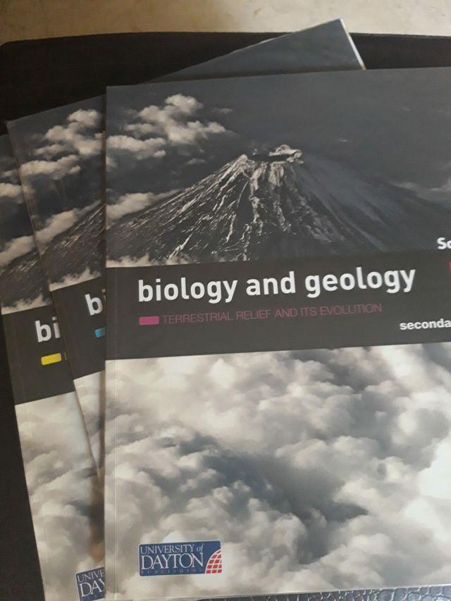 Libros Biology and Geology de 1 primero ESO