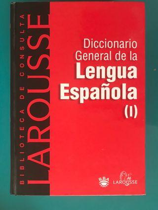 Diccionario general LENGUA ESPAÑOLA LAROUSSE