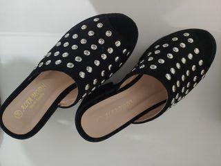 Sandalias altas,36, en perfecto estado