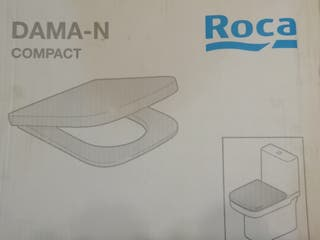 TAPA WC ROCA DAMA-N COMPACT (BLANCA)
