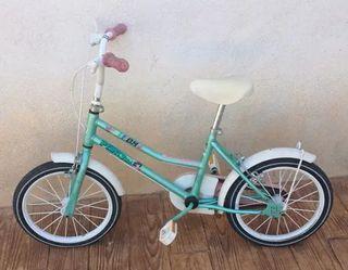 """Bicicleta BH niña Rueda 16"""" infantil"""