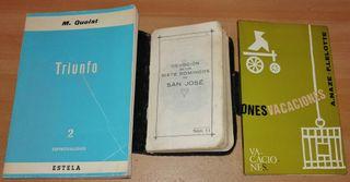 Tres libros de religión, creencias y cristianismo