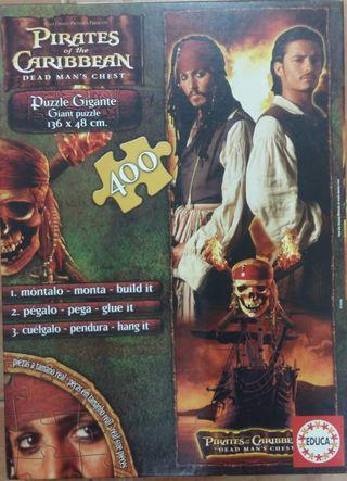 puzzle Piratas del Caribe