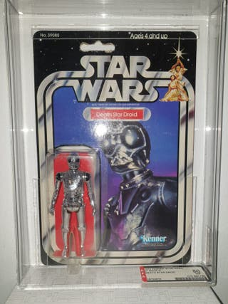 Star Wars vintage death star Droid AFA 80
