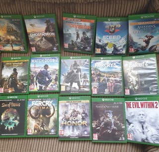 15 Xbox one games