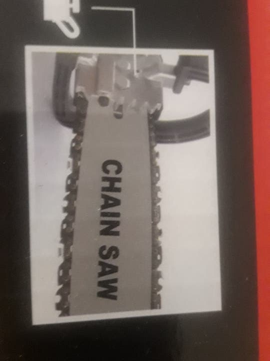 accesorio para convertir amoladora en motosierra