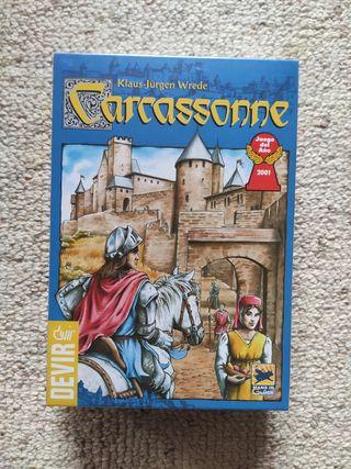 Juego de mesa Carcassonne.