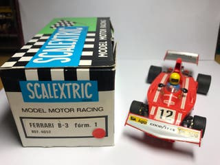Scalextric Ferrari B3 F.1 Rojo Exin Ref 4052