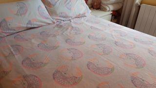 2 fundas de almohada + funda reversible nórdico