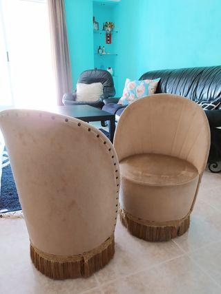 Butacas calzadoras antiguas