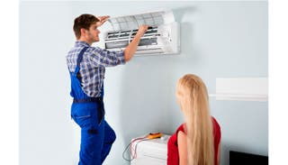 Instalación aire acondicionado casa y reparación
