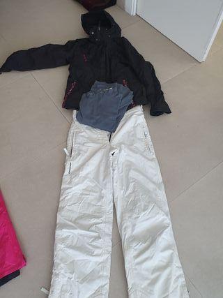 conjunto esqui chica talla M (40).