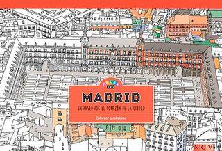 Madrid. Relax Art. Colorear y relajarse