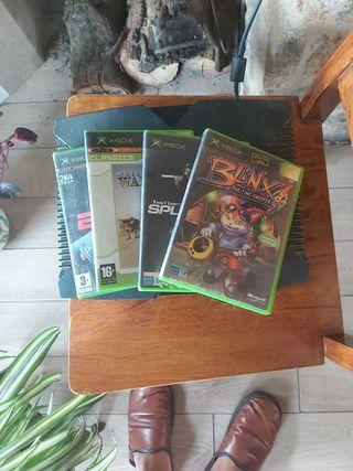 Xbox + 4 juegos
