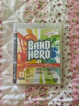 Videojuego Band Hero