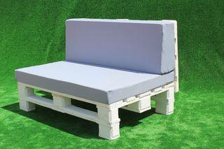 Sofá de palet 120x80cm