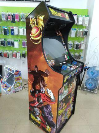 nuevo modelo maquina arcade recreativa dragon ball