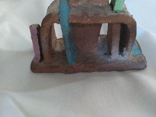 Escultura decoración cerámica