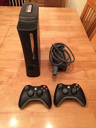 Xbox 360 Elite Black edition