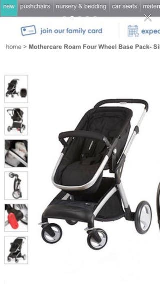 Mothercare pushchair roam