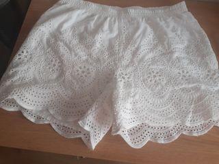 pantalón blanco ibicenca