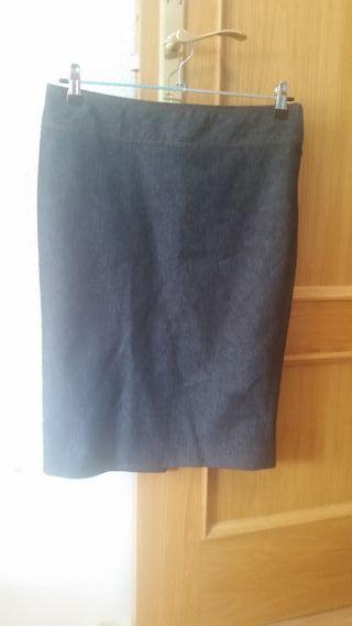 Falda vaquera Zara talla M