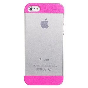 Carcasa Apple Iphone 5/5S, rosa purpurina