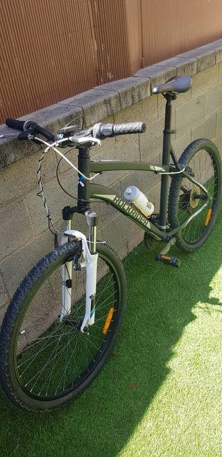 Bicicleta de aluminio, frenos v-brake. Talla L